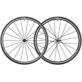 Mavic Ksyrium Elite UST Laufradsatz Shimano/SRAM M-25 schwarz/grau
